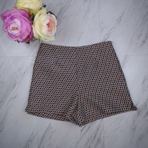 Zara High Waisted Shorts SZ S